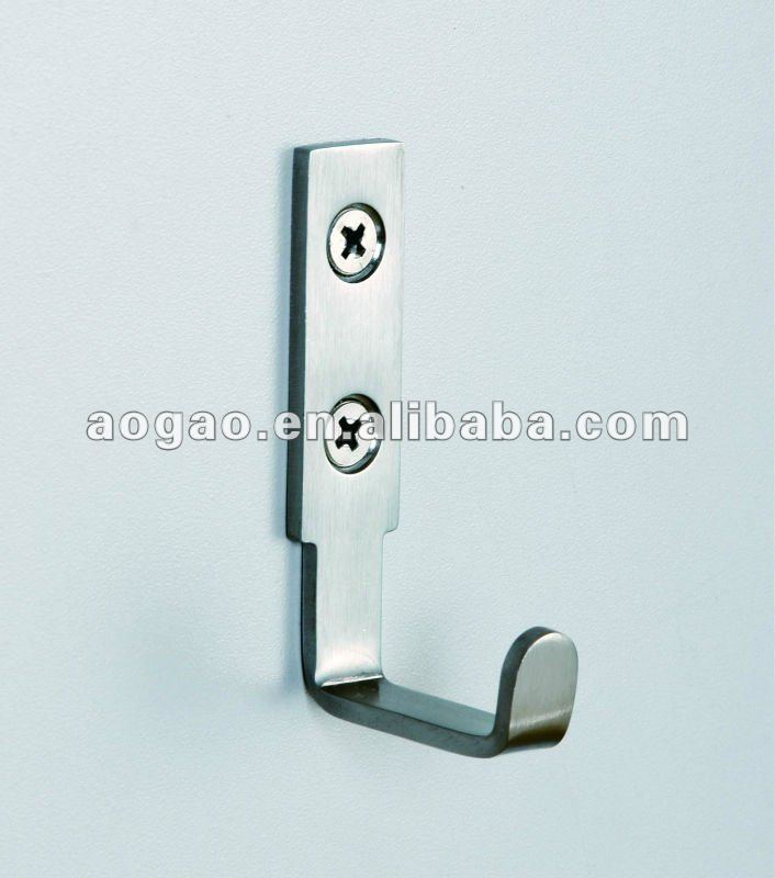 stainless steel robe hook for hanging clothes