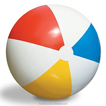 Pool Party Balls Rainbow Colorful PVC Beach Balls