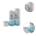 Small cardboard tube packaging glossy cardboard round box