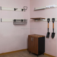 Wholesale Price Garage Storage 3D PVC Wall Paneling Home Depot for Slatwall