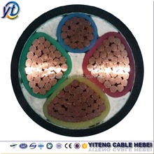 High Quality 50mm2 600V 1000V 3+1 Cores Copper Conductor XLPE Insulated Low voltage Power Cable for South Africa Market