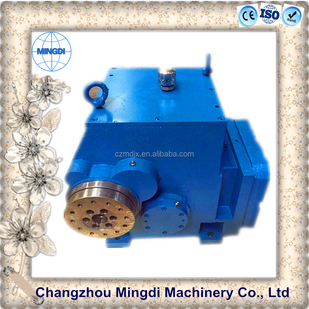 CVT Three- Stage Non-backlash Cylindrical Transmission Gearbox Parts With Electric Motor