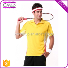 Badminton sports t shirts,custom only your own design t shirts