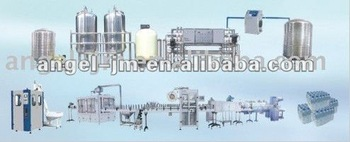 Good quality (0.33L, 0.5L, 1L, 1.5L) 5000BPH new 2013 pure complete bottle water production machine for water factory
