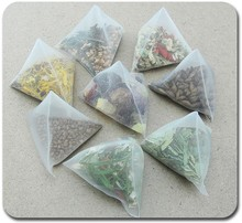 wholesale empty triangle tea bag