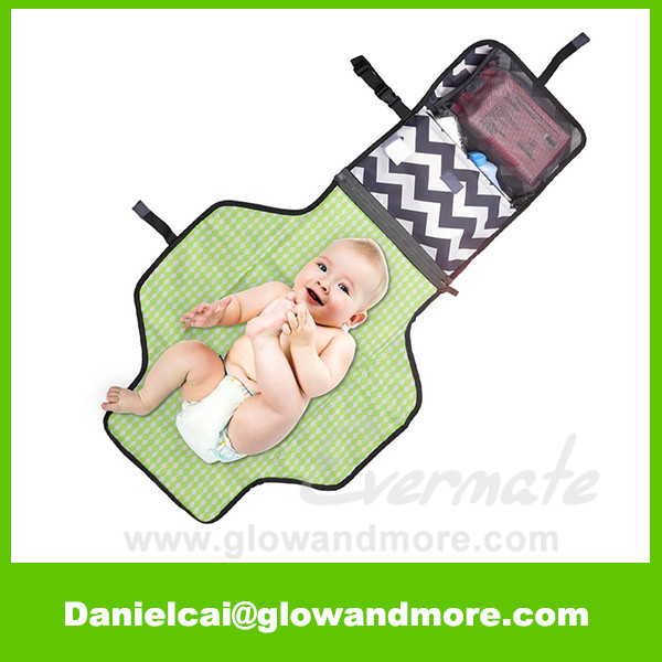 Most popular high quality OEM Baby essentials portable diaper changing pad