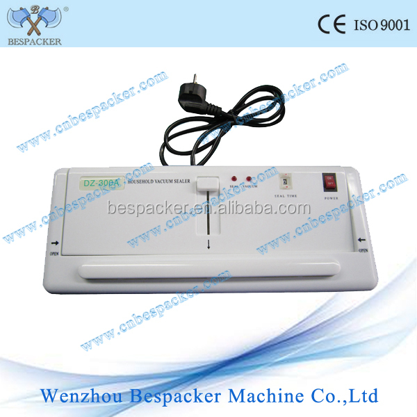 DZ-300A home use sealing machine/vacuum packing machine