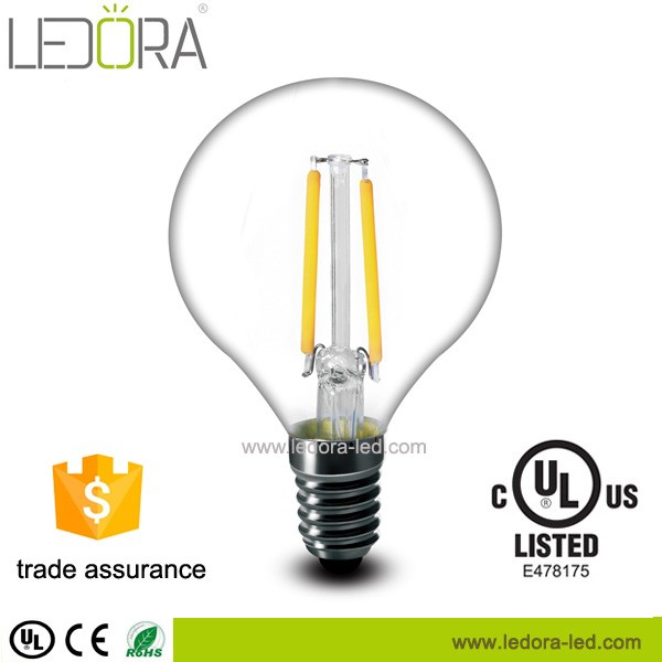 New products 2016 G45 led filament bulb ul 2W 4W E12 E26 led lighting dimmable all product alibaba express china supplier