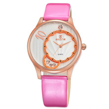 leather wristband vogue large wrist women watch