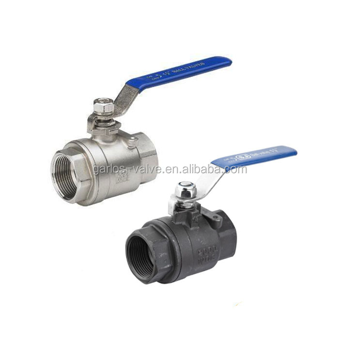 2pc female-female thread cf8m 1000wog 2 inch ball valve