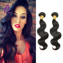 Wholesale Cheap No Shed No Tangle 100% Virgin Brazilian Hair Body wave Crochet Braids With Human Hair
