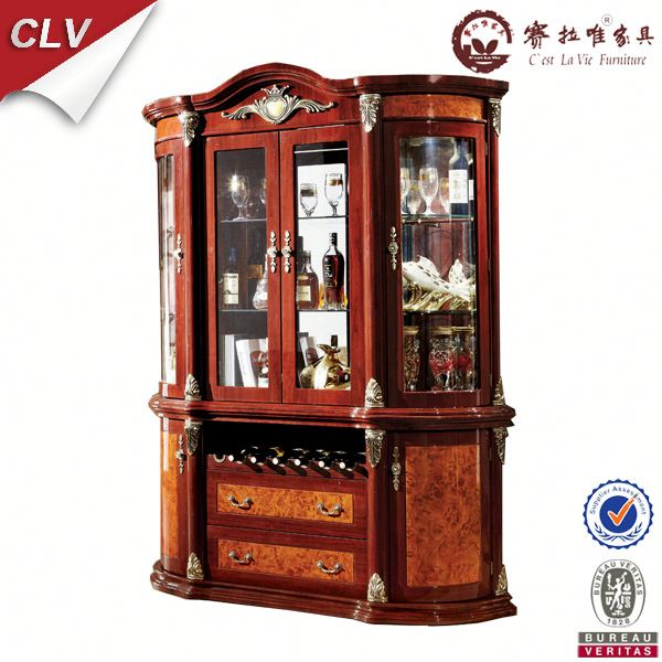 wooden mini display cabinet 853#