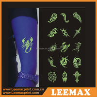 LM1073 Bracelet country flag temporary tattoo sticker lower back tattoos glow in the dark temporary tattoos