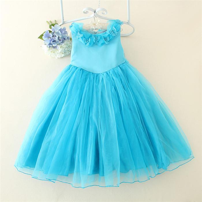 Fashion Designer One Piece Girl\'s Western Party Dress Boutique Dress ...