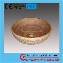 Wholesale china style traditional ceramics artistic ceramic basin