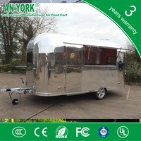 HOT SALES BEST QUALITY show room food car standing food car food car with kitchen equipment .