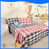 Super quality Hotel Satin Stripe Bed Linen Set Cotton Duvet Cover Set