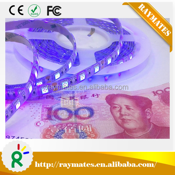 Top selling products 2016 CE, ROHS 72W 12V SMD 5050 365nm uv led strip / waterproof uv led strip