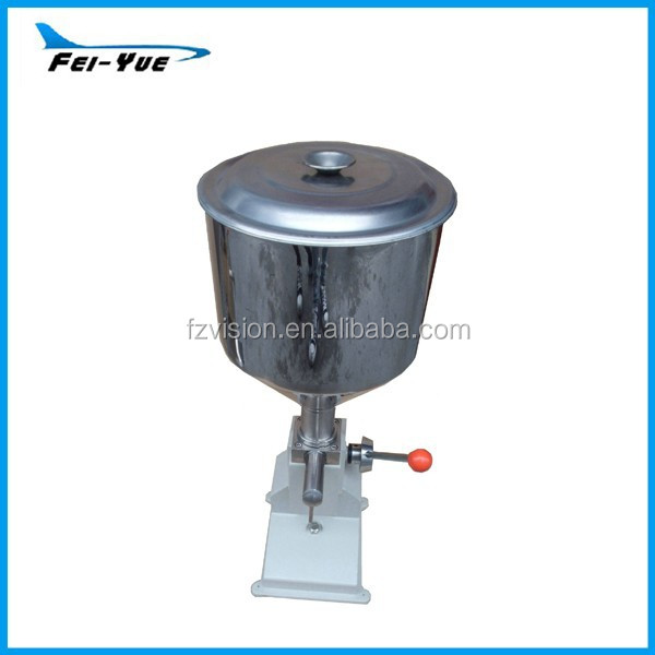 <strong>A03</strong> Desktop Stainless steel Small volume Paste liquid Manual Filling Machine