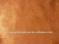 100% polyester weft suede fabric for curtains/upholstery suede fabric