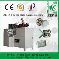 Hot sale! Automatic disposable plates making machine used PE coated paper high efficiency