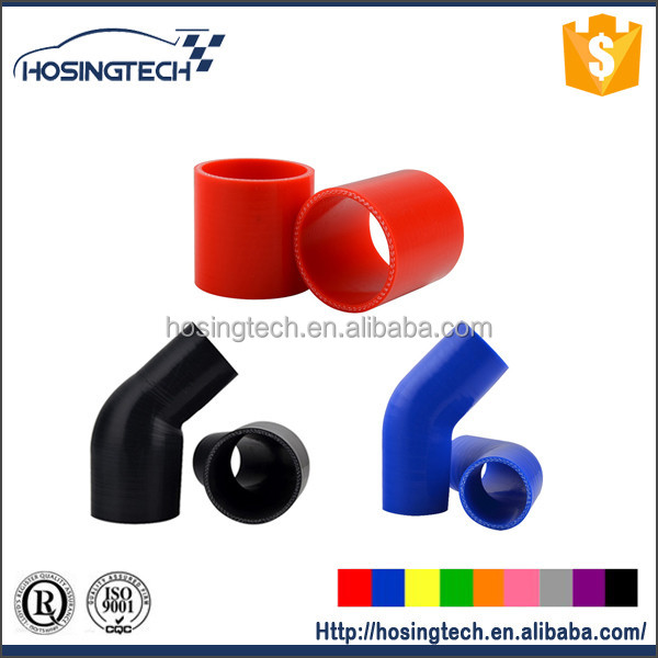 accept customize high temperature turbo inlet/air intake flexible silicone hose