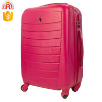 Pink Color ABS Hardcase School Spinner
