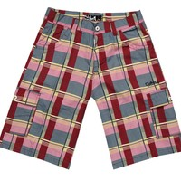 POPULAR Canvas Material Printed Bermuda Shorts