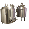 Gas steam heated 2000L industrial beer brewing equipment brewhouse kettle