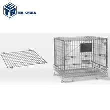 Stainless Steel Bulk Food Storage Wire Mesh Container
