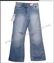 Men's baggy straight padded rip fit jeans WM-022
