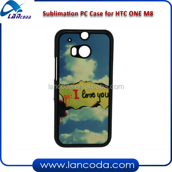 sublimation cell phone case for HTC one M8