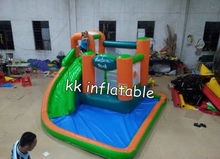 good quality inflatable water slide castle