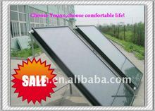 Glass flat panel solar collector system (Haining)