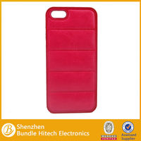 China manufacturer Official Design Leather Trim Case for iPhone 5 & 5S