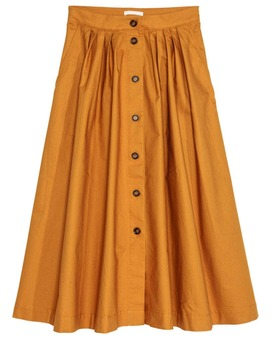 Classical style front button Guangzhou wholesale long skirts for women