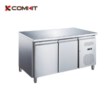 CE approved CK-PA2100TN Stainless Steel Two Doors Pastry Counter / Commercial Undercounter