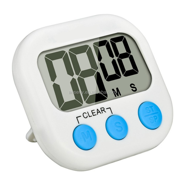 Kitchen Clock Timer Cooking 99 Minute Digital LCD Sport Countdown Calculator js104