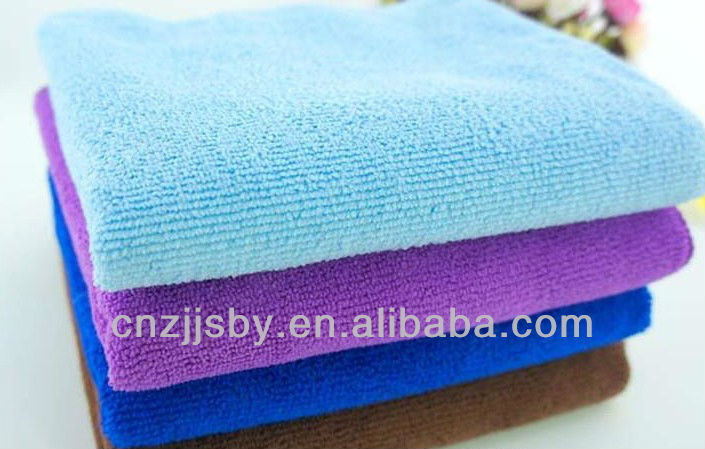 ultra-clean & absorbent microfiber cheap hand towel, facecloth, washcloth, terry towel