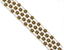 "1/2"" Plastic Beaded Trim : 380034PL"