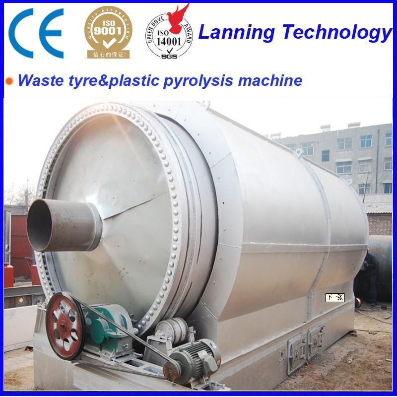 Eco-friendly high- tech high profitable waste tyre pyrolysis machine