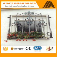 window grill-002 Eco friendly,weather-reistance,Trellis&gates types simple steel window grill design