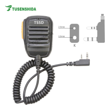 Handheld Portable Speaker TK Connector Microphone for TSSD TS-H001