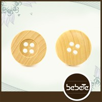 Normal natural wooden shirt buttons for sale