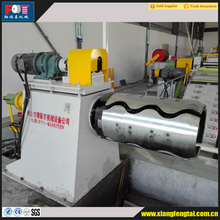 manual uncoiler for unwinding steel coil