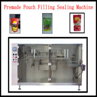 BHP 210 Automatic Preformed Pouch Packing