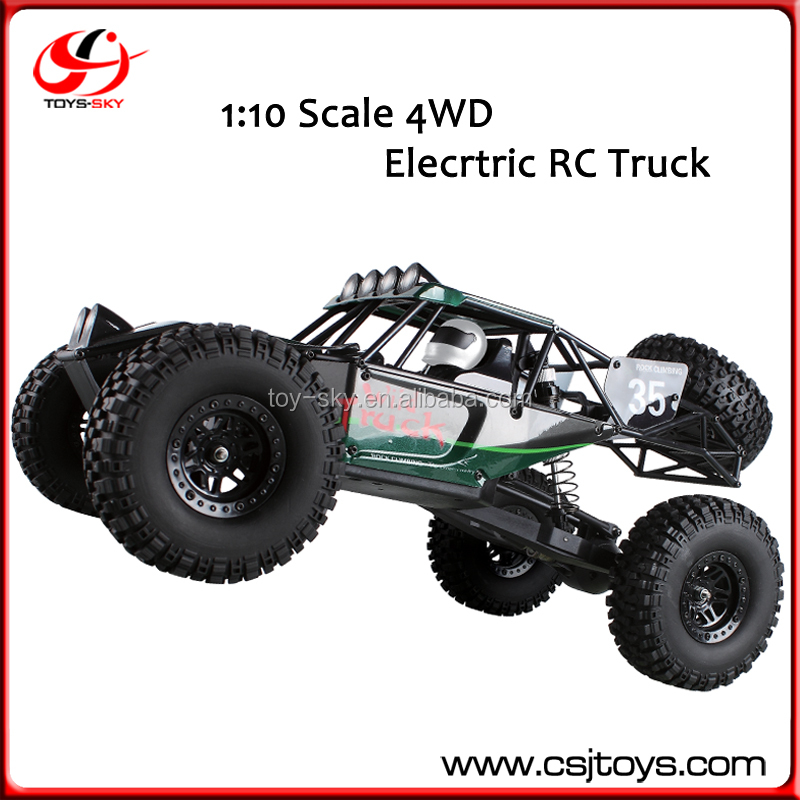 2.4G 1:10 Scale Remote Control Car Chenghai Model Trucks Toys 4WD RTR Electric Power RC Car Climbing RC Trucks