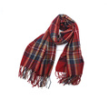 Fashion new arrival plaid viscose scarf