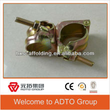 BS1139 EN74 british/JIS standard galvanized types of scaffold clamps/coupler/fittings