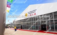 40x60m large big outdoor trade show tent used canton fair guangzhou official supplier made by shelter tent manufacturing